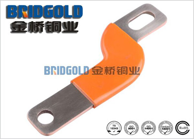 橙色浸胶铜软连接