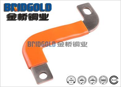 橙色浸胶铜带软连接
