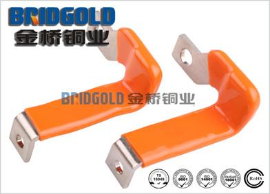 橙色浸塑紫铜带