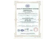 金桥铜业-英文版ISO9001
