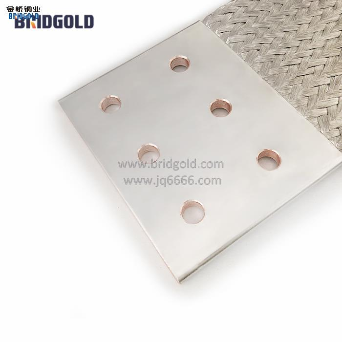 客户到金桥铜业考察了就直接下单,还促成了铜编织带软连接长期合作!!