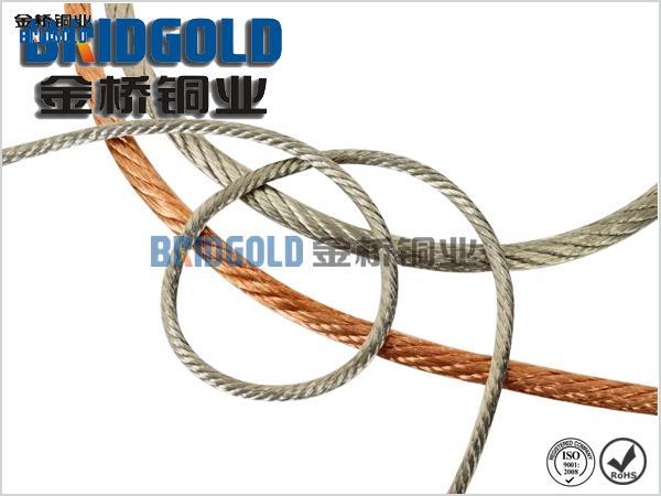 铜软连接厂家生产像这样高质量的铜绞线才能赢得更多的客户信赖与支持—金桥铜业