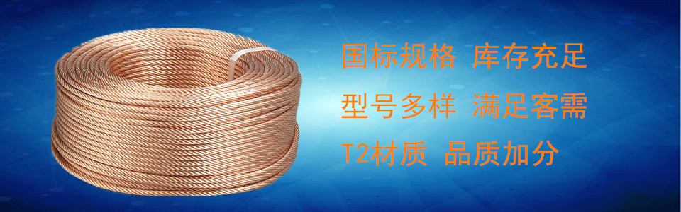 TJ TJR型铜绞线厂家直销