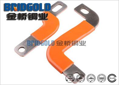 电池箱浸塑铜软连接片