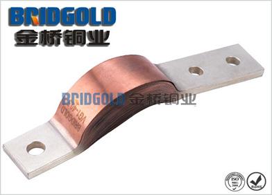 变压器安装铜软连接