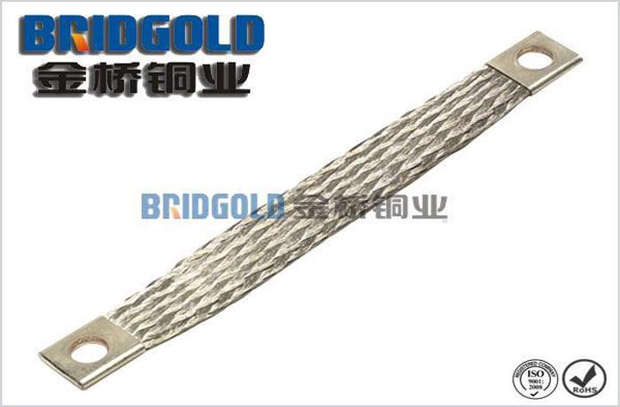 铜编织线软连接(两端压铜管)