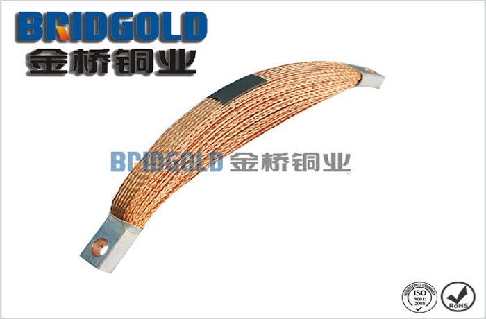 多层铜编织线导电带