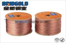方形铜电刷线(铜互编织线)