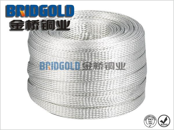 金桥接地铜编织带