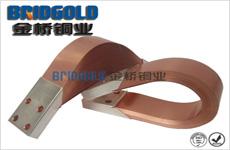 变压器安装铜箔软连接