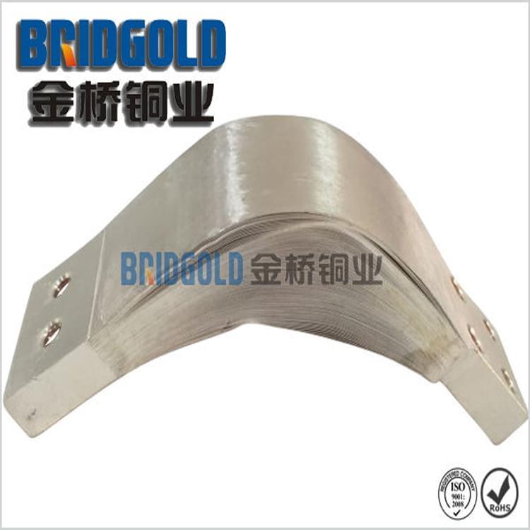 大型机械专用铜箔软连接