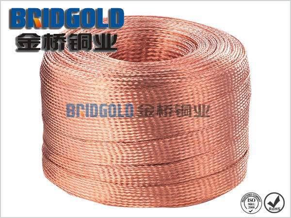 大型仪器铜编织线