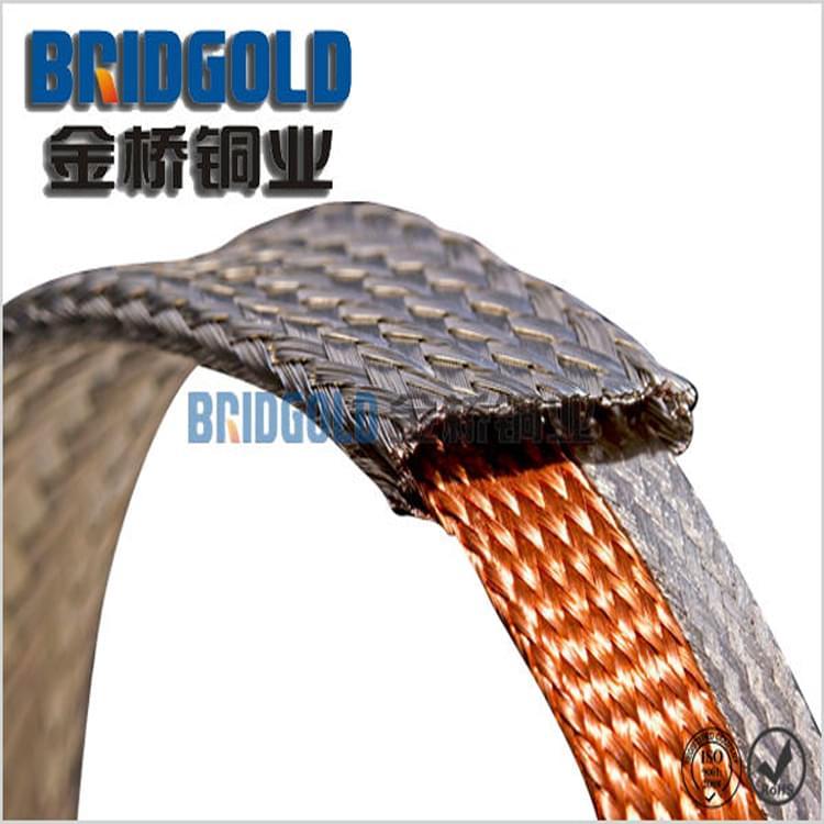 蓄电池连接用铜编织线
