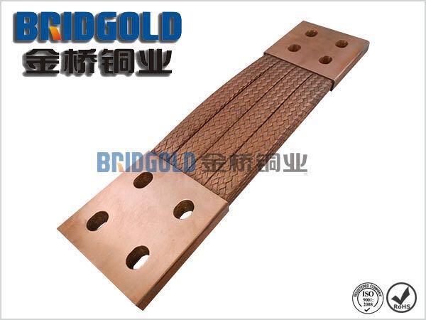 电子工业铜编织线软连接