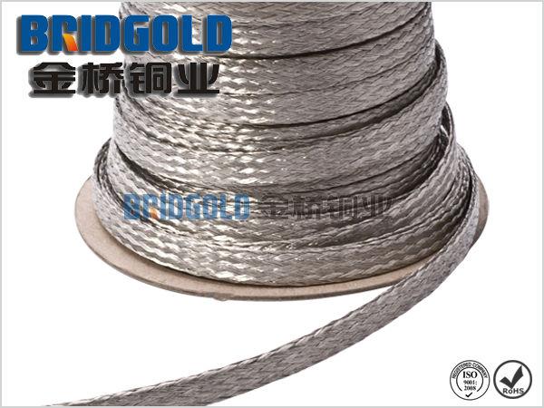 厂家直销T2紫铜铜编织线