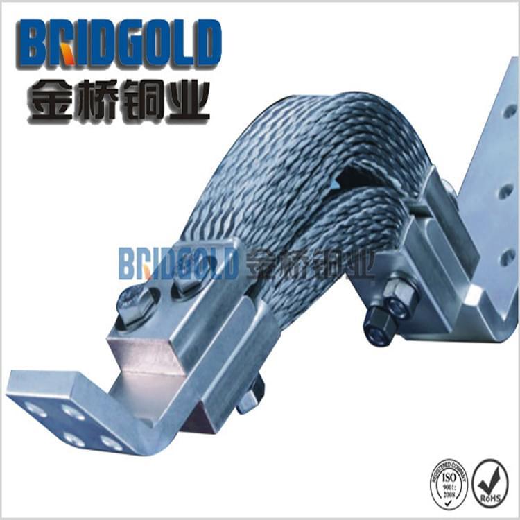 厂家直销T2紫铜铜线软连接